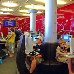 Интернет-кафе Комсомольского